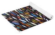 School Of Anchovies Abstract 2 Yoga Mat