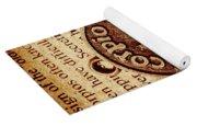 Scorpio Parchment Yoga Mat