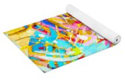 Sea Of Colors  Yoga Mat