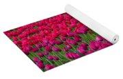 Sea Of Tulips Yoga Mat