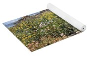 Seaside Flowers Yoga Mat