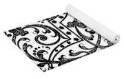 Seventeenth Century Parterre Pattern Design Yoga Mat