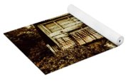 Shabby Country Cottage Yoga Mat