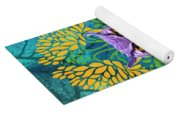 Owl At Night Yoga Mat