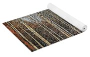 Silver Birch Winter Garden Yoga Mat