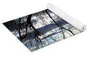Silver Sunset Yoga Mat