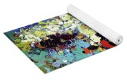 Sitting Nu Abstract Yoga Mat
