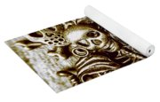 Skull And Cross Bone Treasure Yoga Mat