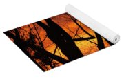 Sky On Fire Yoga Mat