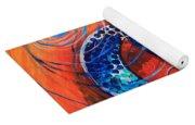 Slopical Tropical Sea Turtle Yoga Mat