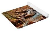 Smokey Mountain Streams And Fall Foilage 2 Yoga Mat
