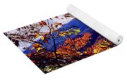 Smoky Mountain Autumn View Yoga Mat