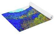 Smoky Mountains Scenery 6 With Sunny Day Filter Yoga Mat