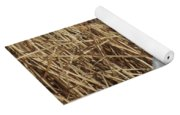 Snowy Egret In Tall Grasses Yoga Mat