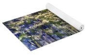 Snowy Lane Yoga Mat