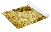 Soldiers And Battle Maps Yoga Mat