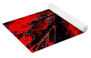 Space Poppy Yoga Mat
