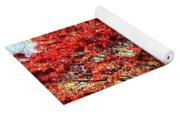Sparkling Japaneese Maple Tree Yoga Mat