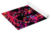 Speck Of Time Pink Yoga Mat