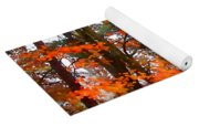 Splashes Of Autumn Yoga Mat