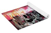 Splatter Pop Yoga Mat