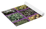 Spring Desert Collage Yoga Mat