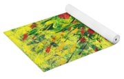 Spring In The Air Yoga Mat