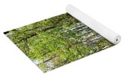 Spring Light And Shadow Yoga Mat