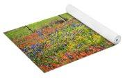 Spring's Floral Quilt Yoga Mat