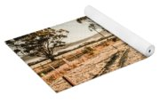 St Marys Winter Country Road Yoga Mat