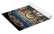 Stained Glass - Palm Sunday Yoga Mat