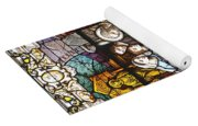 Stained Glass 1 Yoga Mat