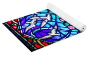 Stained Glass Beauty #20 Yoga Mat
