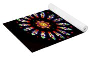Stained Glass Beauty #46 Yoga Mat