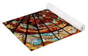 Stained Glass Ceiling Yoga Mat