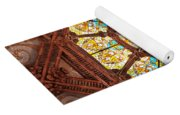 Stained Glass Ceiling Window Yoga Mat