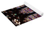 Stained Glass Glory Of St Patricks Yoga Mat