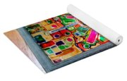 Stained Glass Table Yoga Mat