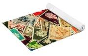 Stamping The Royal Mail Yoga Mat