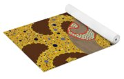 Stardust And Pearls Yoga Mat