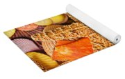 Starfish And Seashells  Yoga Mat