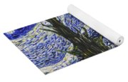 Starry Nights And Serenity  Yoga Mat