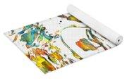 Steve Vai Paint Splatter Yoga Mat