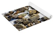 Stones And Snow Yoga Mat