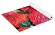Strawberries 8 X 10 Yoga Mat