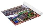 Street Scene Monterosso Italy Dsc02470 Yoga Mat
