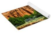 Striated Mountains Yoga Mat