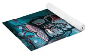 Stylized Salmon Yoga Mat