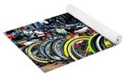 Summer Bright Pedals Yoga Mat