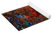 Summer Landscape With Poppies  Yoga Mat